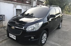 Selling Black Chevrolet Spin 2014 at 67000 km