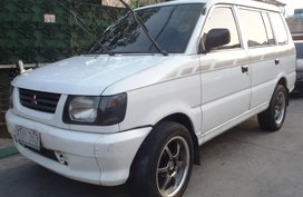 White 2003 Mitsubishi Adventure Manual Diesel for sale in Manila