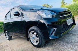 Black 2015 Toyota Wigo at 50000 km for sale