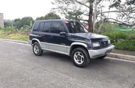 Black Suzuki Vitara 1997 Automatic for sale in Rizal