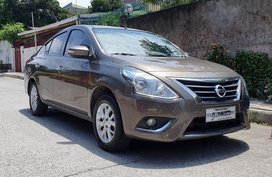 Brown 2017 Nissan Almera at 29000 km for sale