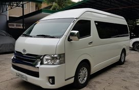 Sell Used 2017 Toyota Hiace at 20000 km in Quezon City