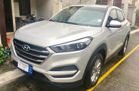 Silver 2017 Hyundai Tucson at 13000 km for sale in Metro Manila