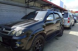 Sell Black 2008 Toyota Fortuner Automatic Gasoline in Tacloban