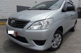 Silver 2015 Toyota Innova Diesel Manual for sale