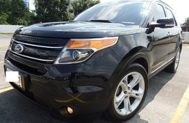 Black 2014 Ford Explorer for sale in Quezon City