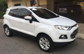 White 2017 Ford Ecosport at 23000 km for sale in Metro Manila