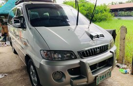 Sell White 2002 Hyundai Starex Manual Diesel in Isabela