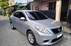 Silver Nissan Almera 2013 Gasoline Manual for sale