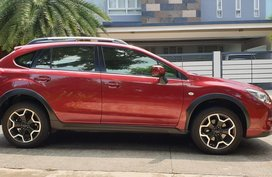 Selling Red Subaru Xv 2015 at 25000 km in Metro Manila