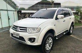 Selling White Mitsubishi Montero Sport 2014 at 39000 km