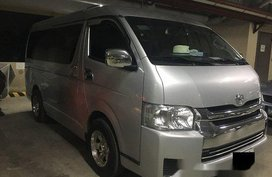 Silver Toyota Hiace 2016 at 21000 km for sale