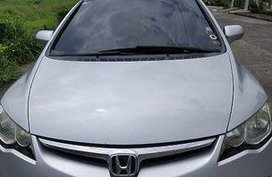 Selling Silver Honda Civic 2008 Automatic Gasoline