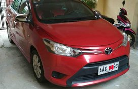 Selling Red Toyota Vios 2014 Sedan at 38000 km