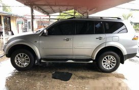 Silver Mitsubishi Montero Sport 2011 at 51187 km for sale