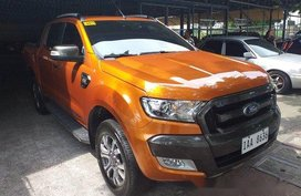 Orange Ford Ranger 2017 for sale in Marikina