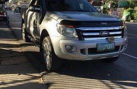 Sell Silver 2013 Ford Ranger at 80000 km