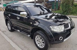 Sell Black 2012 Mitsubishi Montero Sport at 86000 km