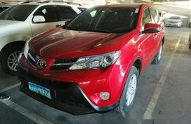 Red Toyota Rav4 2013 for sale in Cebu
