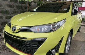 Yellow Toyota Yaris 2018 for sale in Quezon City