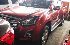 Red Isuzu D-Max 2017 Truck Manual Diesel for sale
