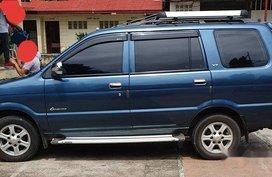 Blue Isuzu Crosswind 2013 Manual Diesel for sale