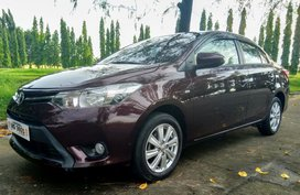 Selling Red Toyota Vios 2016 Automatic at 22000 km