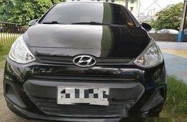 Black Hyundai Grand i10 2014 Manual Gasoline for sale