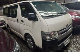 White Toyota Hiace 2015 at 175000 km for sale