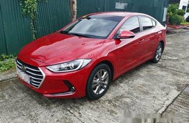 Red Hyundai Elantra 2019 for sale in Parañaque