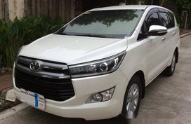 Sell White 2016 Toyota Innova Automatic Diesel at 42000 km