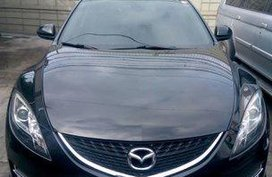 Black Mazda 6 2008 Automatic Gasoline for sale