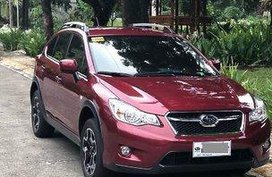 Sell Red 2015 Subaru Xv Automatic Gasoline at 25000 km