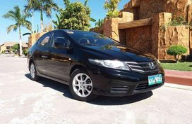 Black Honda City 2013 Manual Gasoline for sale