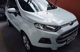 Selling White Ford Ecosport 2015 in Quezon City