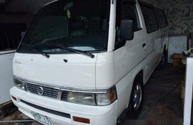 White Nissan Urvan 2011 for sale in Quezon City