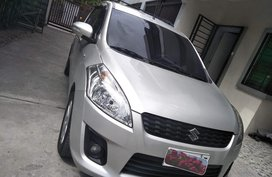 Silver Suzuki Ertiga 2015 at 38500 km for sale