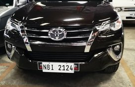 Black Toyota Fortuner 2018 Automatic Diesel for sale