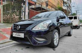 Black Nissan Almera 2018 at 11000 km for sale in General Salipada K. Pendatun