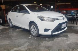 White Toyota Vios 2016 at 80000 km for sale
