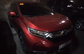 Red Honda Cr-V 2018 Automatic Diesel for sale