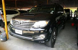 Sell Black 2015 Toyota Fortuner at 54060 km