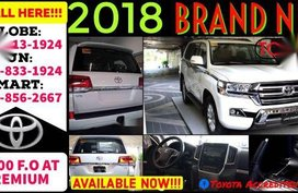 Selling Pearl White Toyota Land Cruiser 2019