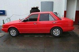 Red Nissan Sentra 1990 Manual Gasoline for sale