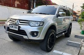 Sell Silver 2014 Mitsubishi Montero Sport Automatic Diesel at 46000 km