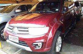 Sell Red 2015 Mitsubishi Montero Sport at 26979 km