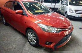 Orange Toyota Vios 2016 at 19000 km for sale