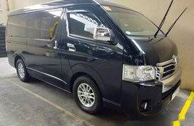 Black Toyota Hiace 2018 for sale in Quezon City