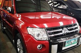 Sell Red 2009 Mitsubishi Pajero in Manila