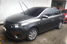 Grey Toyota Vios 2015 Sedan Automatic Gasoline for sale